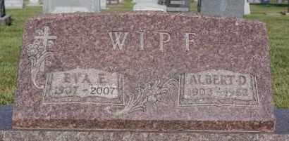 WIPF, ALBERT D - Hutchinson County, South Dakota | ALBERT D WIPF - South Dakota Gravestone Photos