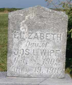WIPF, ELIZABETH - Hutchinson County, South Dakota | ELIZABETH WIPF - South Dakota Gravestone Photos