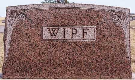 WIPF, FAMILY MARKER - Hutchinson County, South Dakota   FAMILY MARKER WIPF - South Dakota Gravestone Photos