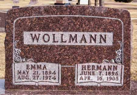 WOLLMAN, HERMANN - Hutchinson County, South Dakota   HERMANN WOLLMAN - South Dakota Gravestone Photos