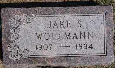 WOLLMANN, JAKE S - Hutchinson County, South Dakota | JAKE S WOLLMANN - South Dakota Gravestone Photos