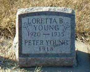 YOUNG, PETER - Hutchinson County, South Dakota | PETER YOUNG - South Dakota Gravestone Photos