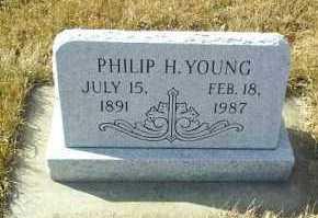 YOUNG, PHILIP - Hutchinson County, South Dakota | PHILIP YOUNG - South Dakota Gravestone Photos