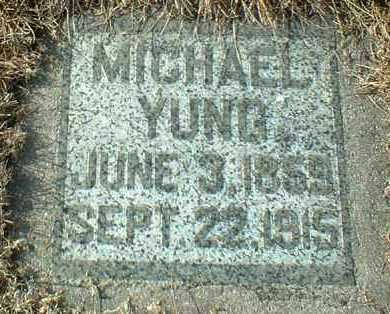 JUNG, MICHAEL - Hutchinson County, South Dakota | MICHAEL JUNG - South Dakota Gravestone Photos