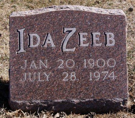ZEEB, IDA - Hutchinson County, South Dakota | IDA ZEEB - South Dakota Gravestone Photos
