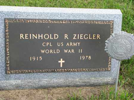 ZIEGLER, REINHOLD R (WWII) - Hutchinson County, South Dakota | REINHOLD R (WWII) ZIEGLER - South Dakota Gravestone Photos