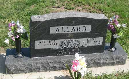 ALLARD, GENE - Jackson County, South Dakota | GENE ALLARD - South Dakota Gravestone Photos