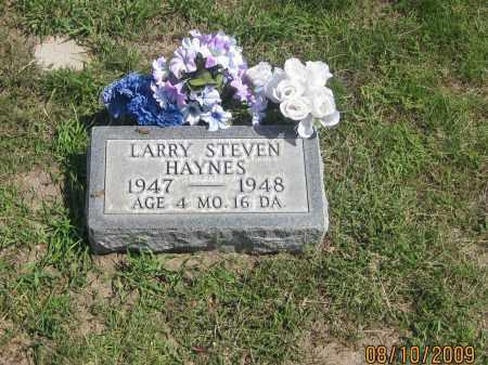 HAYNES, LARRY STEVEN - Jackson County, South Dakota | LARRY STEVEN HAYNES - South Dakota Gravestone Photos