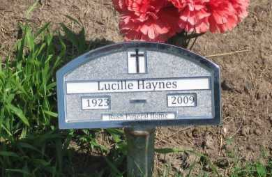 HAYNES, LUCILLE - Jackson County, South Dakota | LUCILLE HAYNES - South Dakota Gravestone Photos