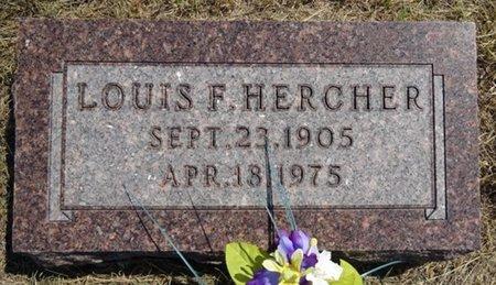 HERCHER, LOUIS - Jackson County, South Dakota | LOUIS HERCHER - South Dakota Gravestone Photos