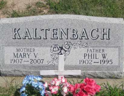 KALTENBACH, MARY  V. - Jackson County, South Dakota | MARY  V. KALTENBACH - South Dakota Gravestone Photos