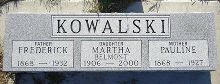 KOWALSKI, PAULINE - Jackson County, South Dakota   PAULINE KOWALSKI - South Dakota Gravestone Photos