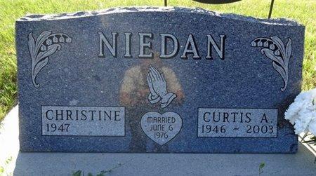 NIEDAN, CHRISTINE - Jackson County, South Dakota   CHRISTINE NIEDAN - South Dakota Gravestone Photos