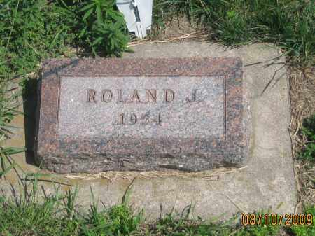 RICHARDSON, ROLAND  J. - Jackson County, South Dakota | ROLAND  J. RICHARDSON - South Dakota Gravestone Photos