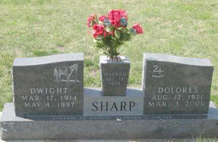SHARP, DWIGHT - Jackson County, South Dakota | DWIGHT SHARP - South Dakota Gravestone Photos