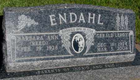 ENDAHL, BARBARA ANN - Jerauld County, South Dakota | BARBARA ANN ENDAHL - South Dakota Gravestone Photos