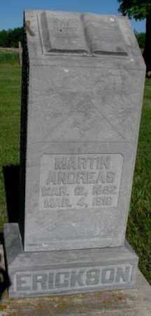 ERICKSON, MARTIN ANDREAS - Jerauld County, South Dakota   MARTIN ANDREAS ERICKSON - South Dakota Gravestone Photos