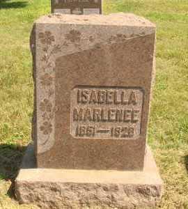 MARLENEE, ISABELLA - Jerauld County, South Dakota | ISABELLA MARLENEE - South Dakota Gravestone Photos