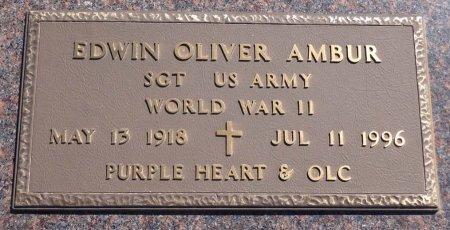 AMBUR, EDWIN OLIVER - Jones County, South Dakota | EDWIN OLIVER AMBUR - South Dakota Gravestone Photos