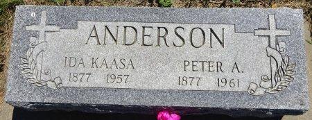 ANDERSON, PETER - Jones County, South Dakota | PETER ANDERSON - South Dakota Gravestone Photos