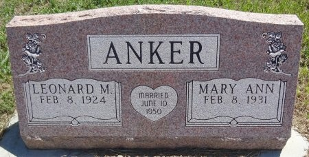 ANKER, MARY ANN - Jones County, South Dakota | MARY ANN ANKER - South Dakota Gravestone Photos