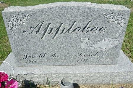 APPLEBEE, CAROL - Jones County, South Dakota | CAROL APPLEBEE - South Dakota Gravestone Photos