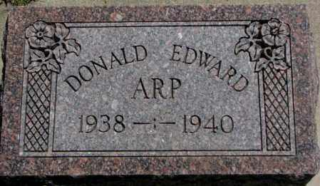 ARP, DONALD EDWARD - Jones County, South Dakota | DONALD EDWARD ARP - South Dakota Gravestone Photos