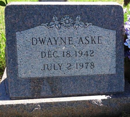 ASKE, DWAYNE - Jones County, South Dakota | DWAYNE ASKE - South Dakota Gravestone Photos