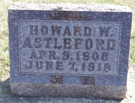 ASTLEFORD, HOWARD - Jones County, South Dakota | HOWARD ASTLEFORD - South Dakota Gravestone Photos