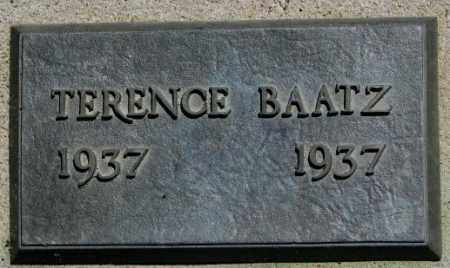 BAATZ, TERENCE - Jones County, South Dakota | TERENCE BAATZ - South Dakota Gravestone Photos