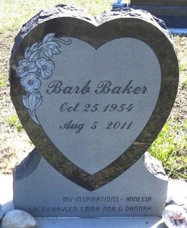 BAKER, BARB - Jones County, South Dakota | BARB BAKER - South Dakota Gravestone Photos