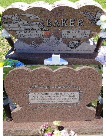 BAKER, BETTY - Jones County, South Dakota | BETTY BAKER - South Dakota Gravestone Photos