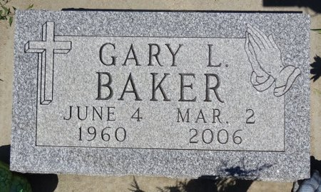 BAKER, GARY - Jones County, South Dakota | GARY BAKER - South Dakota Gravestone Photos