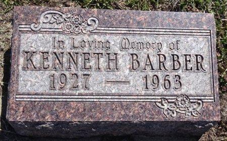 BARBER, KENNETH - Jones County, South Dakota | KENNETH BARBER - South Dakota Gravestone Photos