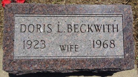 BECKWITH, DORIS - Jones County, South Dakota | DORIS BECKWITH - South Dakota Gravestone Photos