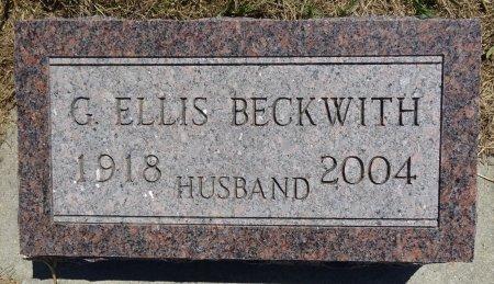BECKWITH, G. ELLIS - Jones County, South Dakota   G. ELLIS BECKWITH - South Dakota Gravestone Photos