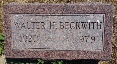 BECKWITH, WALTER - Jones County, South Dakota | WALTER BECKWITH - South Dakota Gravestone Photos