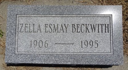 BECKWITH, ZELLA - Jones County, South Dakota | ZELLA BECKWITH - South Dakota Gravestone Photos