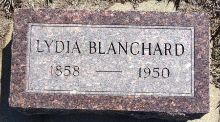 BLANCHARD, LYDIA - Jones County, South Dakota | LYDIA BLANCHARD - South Dakota Gravestone Photos