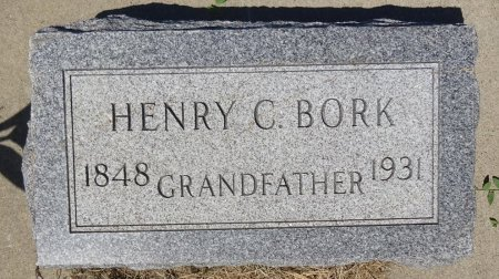 BORK, HENRY - Jones County, South Dakota | HENRY BORK - South Dakota Gravestone Photos
