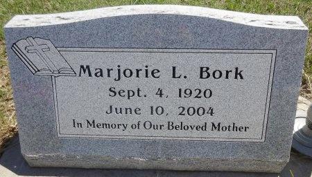 BORK, MARJORIE - Jones County, South Dakota | MARJORIE BORK - South Dakota Gravestone Photos