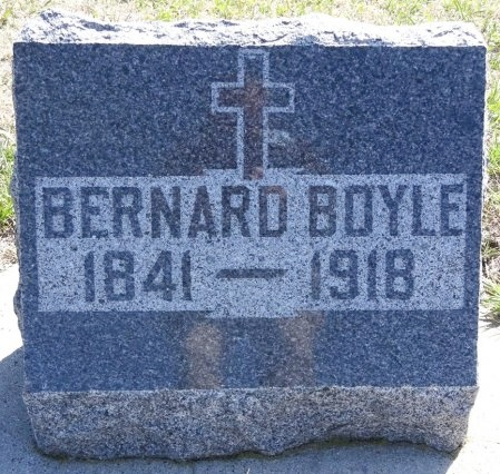 BOYLE, BERNARD - Jones County, South Dakota | BERNARD BOYLE - South Dakota Gravestone Photos