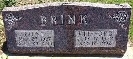 FINCK BRINK, IRENE - Jones County, South Dakota | IRENE FINCK BRINK - South Dakota Gravestone Photos