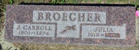 BROECHER, JULIA - Jones County, South Dakota   JULIA BROECHER - South Dakota Gravestone Photos