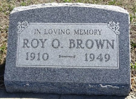BROWN, ROY O. - Jones County, South Dakota | ROY O. BROWN - South Dakota Gravestone Photos