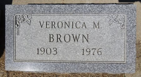 BROWN, VERONICA - Jones County, South Dakota | VERONICA BROWN - South Dakota Gravestone Photos
