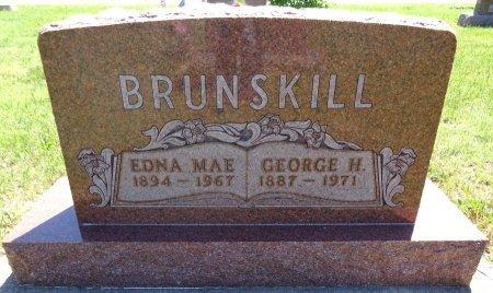 BRUNSKILL, EDNA - Jones County, South Dakota | EDNA BRUNSKILL - South Dakota Gravestone Photos