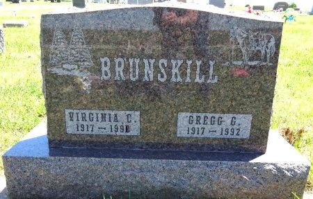 BRUNSKILL, VIRGINIA - Jones County, South Dakota   VIRGINIA BRUNSKILL - South Dakota Gravestone Photos