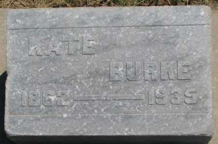 BURKE, KATE - Jones County, South Dakota   KATE BURKE - South Dakota Gravestone Photos