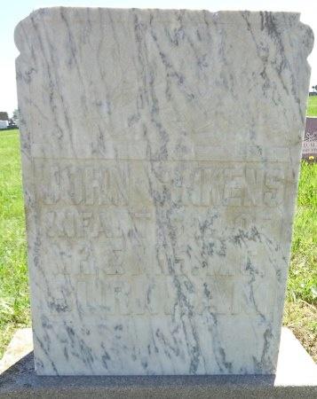 BURNHAM, JOHN - Jones County, South Dakota   JOHN BURNHAM - South Dakota Gravestone Photos
